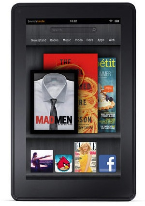 The new Kindle Fire